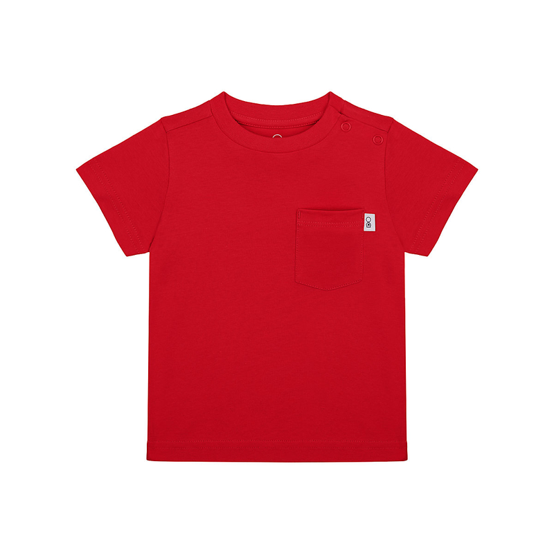 - red t-shirt